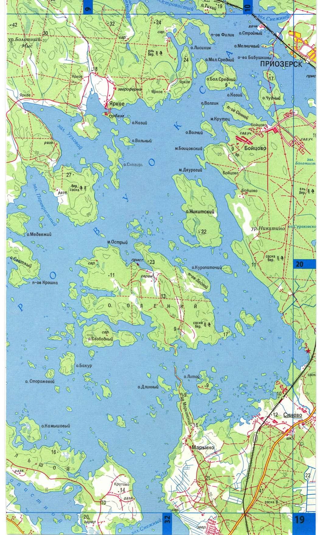 вуокса озеро приозерский район рыбалка